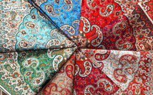 رومیزی ترمه ی یزد